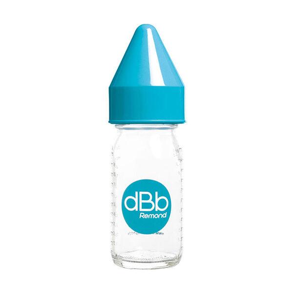dBb Remond Biberon Jus de Fruit Régul'Air Verre Bleu Turquoise 110ml