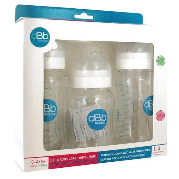 dBb Remond Coffret Biberons LO 0-4 mois Blanc
