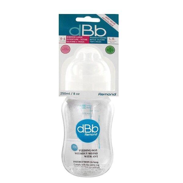 dBb Remond Biberon Blanc L.O 0-4 mois 250ml