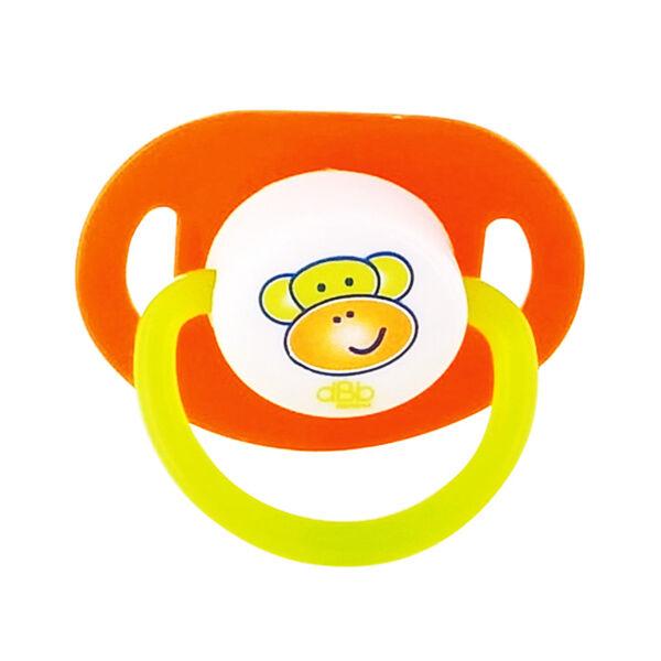 dBb Remond Sucette Anatomique Caoutchouc Singe Orange 2ème âge