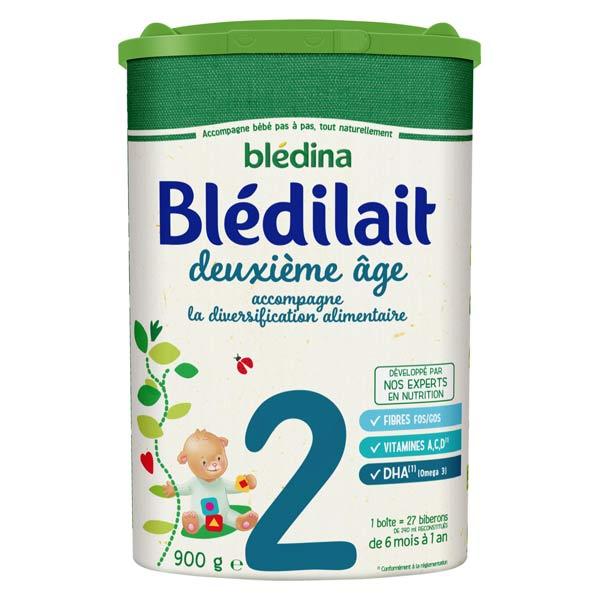 Blédina Blédilait Lait de Suite 2ème Âge 900g