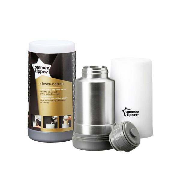 1523000 Tommee Tippee Closer To Nature Thermos Chauffe Biberon Voyage