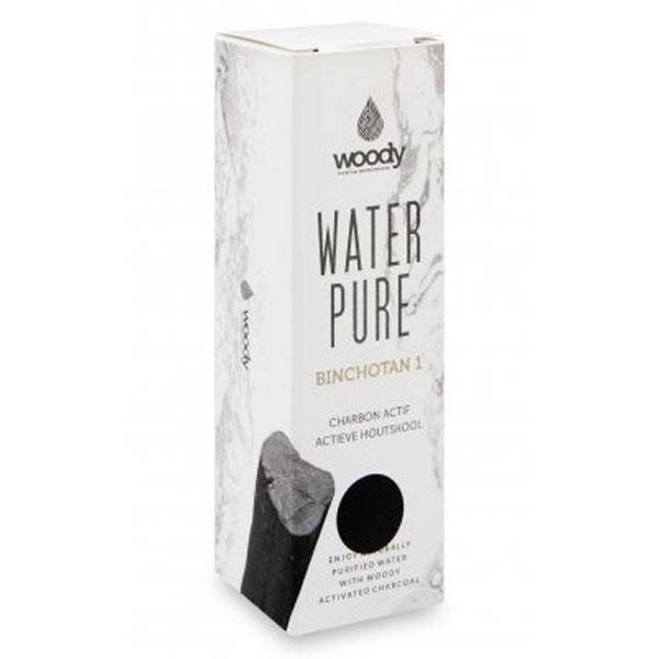 Woody Water Pure Binchotan Charbon Purifiant 10cm