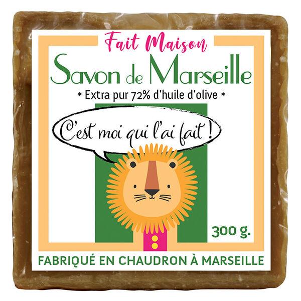 C'est Moi Qui l'Ai Fait Maison Savon de Marseille Solide à l'Huile d'Olive 300g