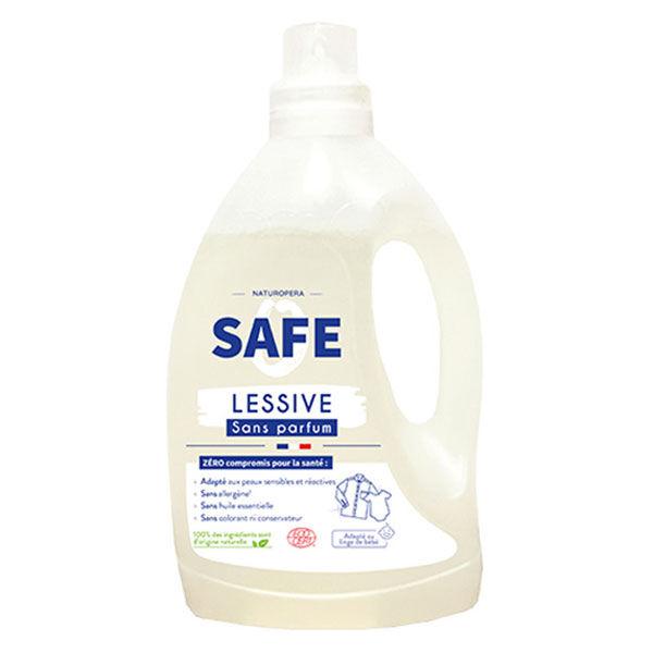 Safe Lessive Liquide Sans Parfum 3L