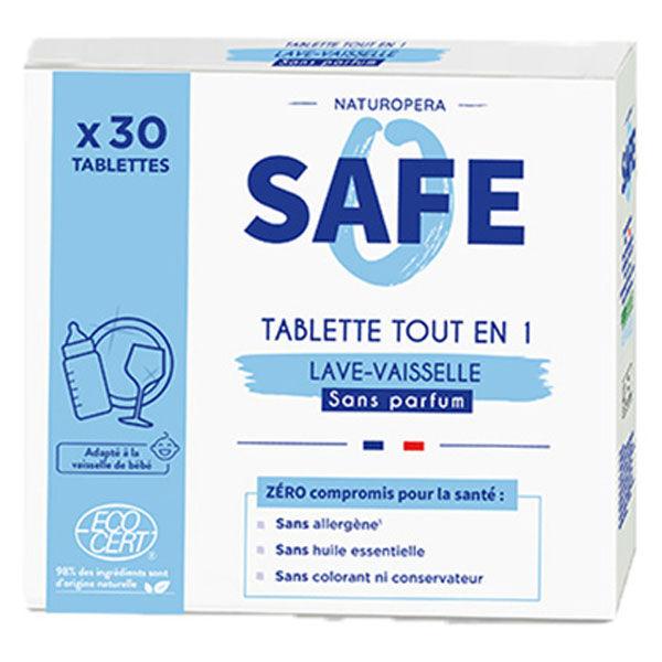 Safe Tablettes Lave-Vaisselle tout en 1 30 unités
