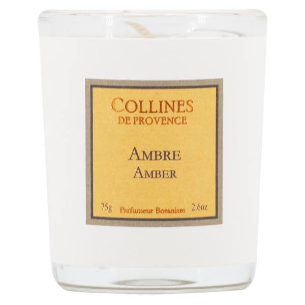 Collines de Provence Bougie Parfumée Ambre 75g