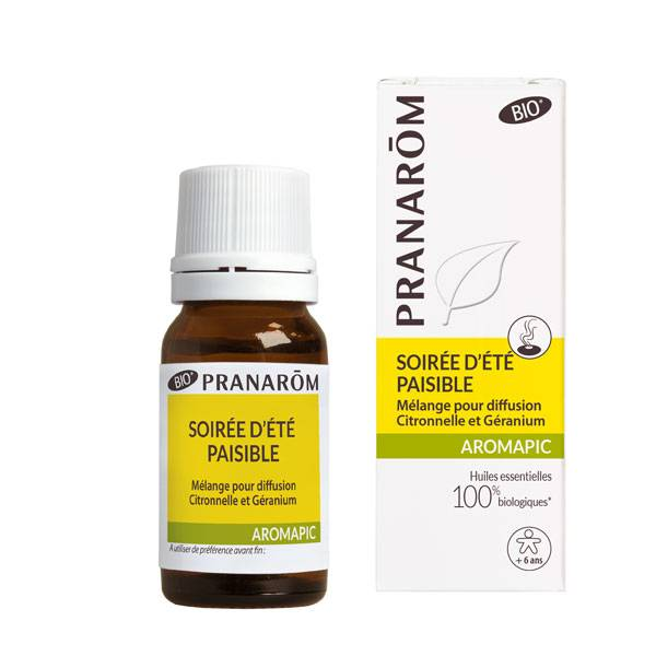 Pranarom Synergies Pour Diffuseur Soirée d'Eté Bio 10ml