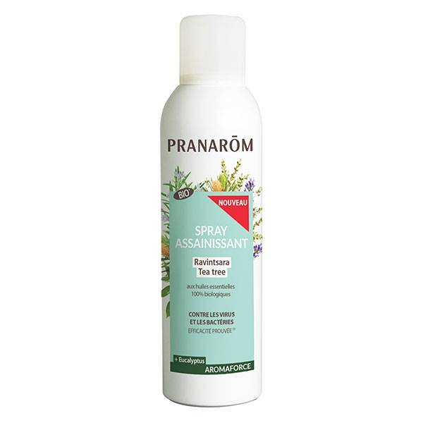 Pranarom Aromaforce Spray Assainissant Ravintsara Tea Tree Bio 150ml