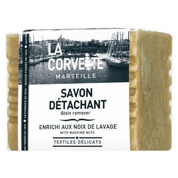 La Corvette Marseille Savon Détachant 250g