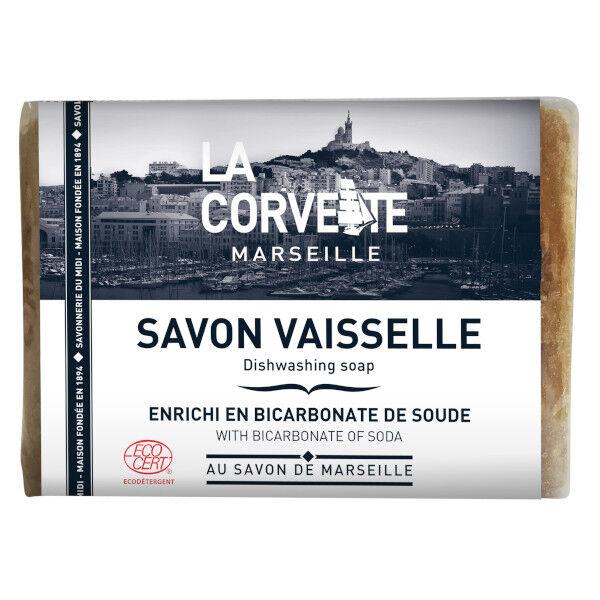 La Corvette Marseille Savon Vaiselle au Savon de Marseille 200g