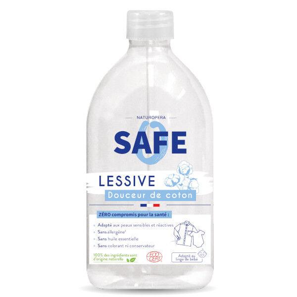 Safe Lessive Liquide Douceur de Coton Bio 1L