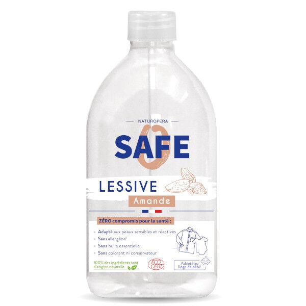 Safe Lessive Liquide Amande Bio 1L