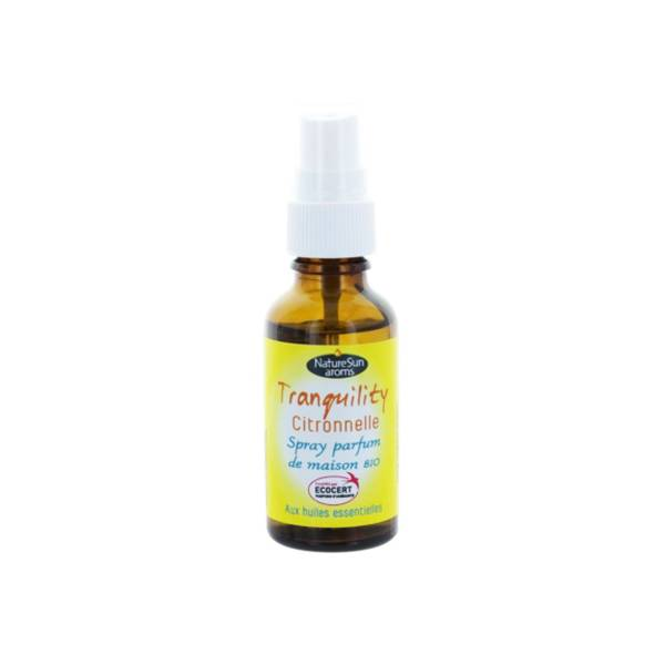 NatureSun Aroms Tranquility Citronnelle Bio Mini Spray 30ml