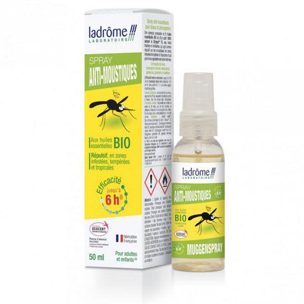 Ladrome Ladrôme Spray Anti-Moustiques Aux Huiles Essentielles Bio 50ml