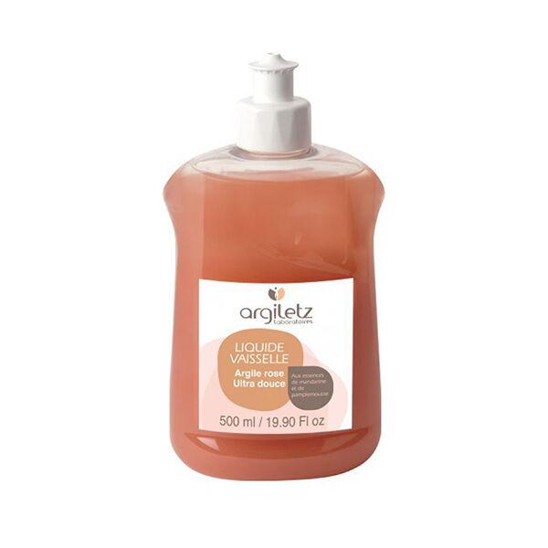 Argiletz Liquide Vaisselle Mandarine / Pamplemousse à l'Argile Rose 500ml