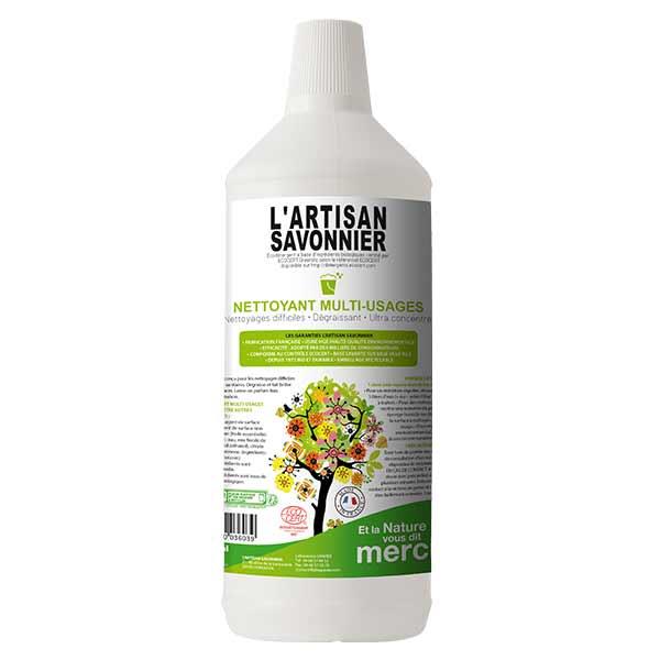 L'Artisan Savonnier Entretien Nettoyant Multi-Usages 1L