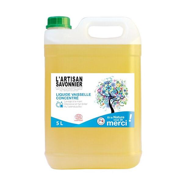 L'Artisan Savonnier Liquide Vaisselle Concentré 5L