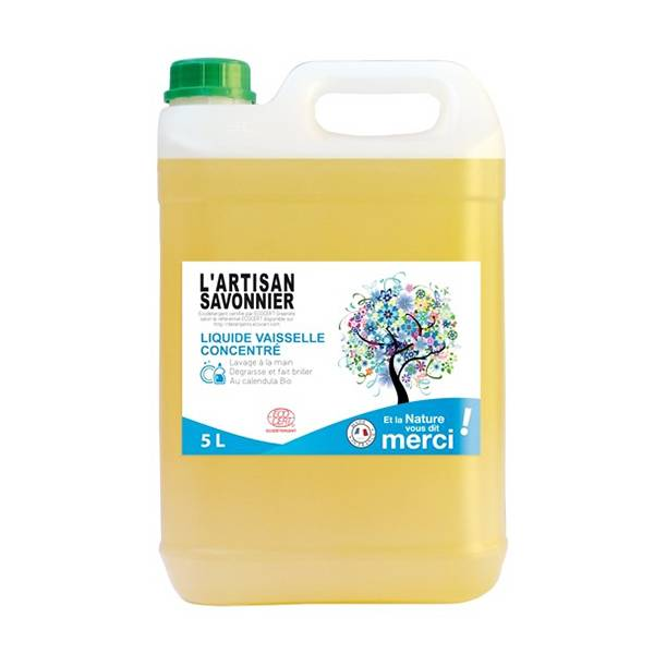 L'Artisan Savonnier Entretien L'Artisan Savonnier Liquide Vaisselle Concentré 5L
