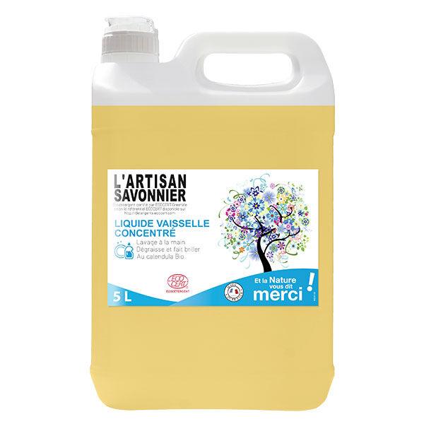 L'Artisan Savonnier Entretien Liquide Vaisselle Concentré 5L