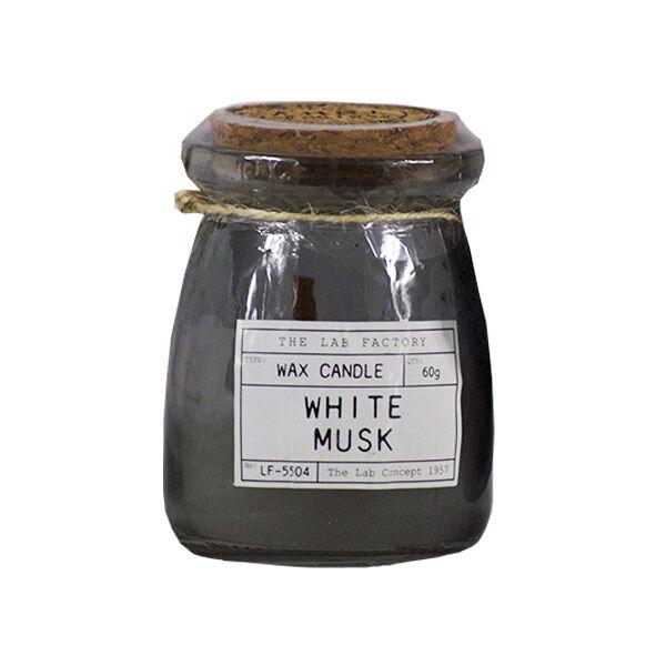 Lysse Côté Maison Bougie Parfumée Liège Senteur Musc Blanc 60g