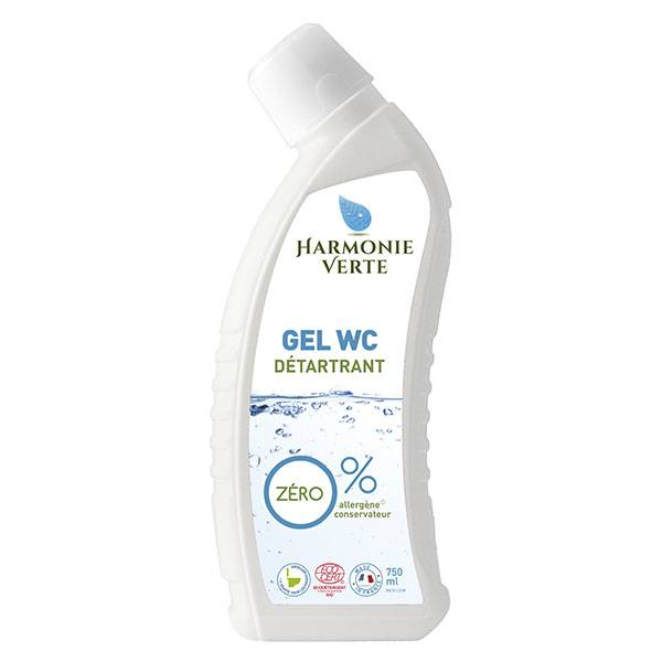 Harmonie Verte Gel WC Détartrant 750ml