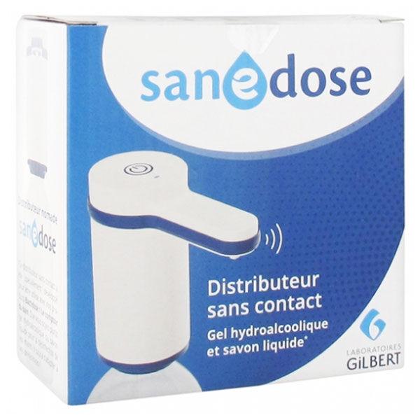 Laboratoires Gilbert Sanedose Distributeur Sans Contact pour Gel Hydroalcoolique et Savon Liquide