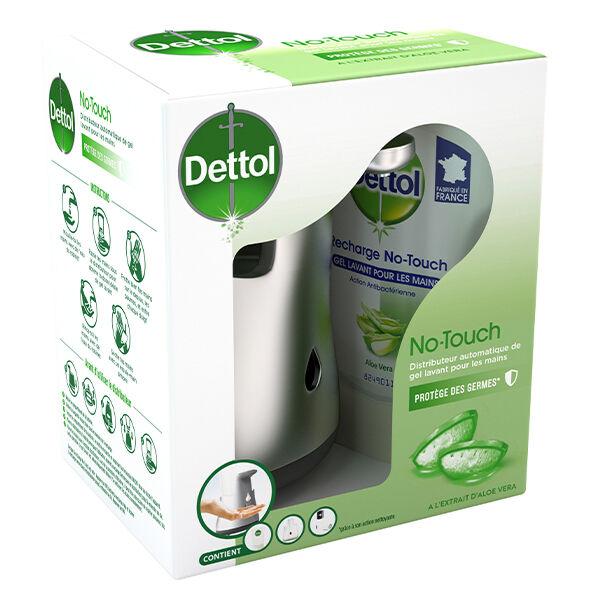 Dettol No-Touch Kit Distributeur Automatique Savon Antibactérien Pamplemousse 250ml