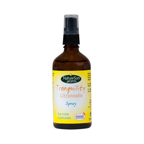 NatureSun Aroms Tranquility Citronelle Bio Spray Parfum de Maison 100ml