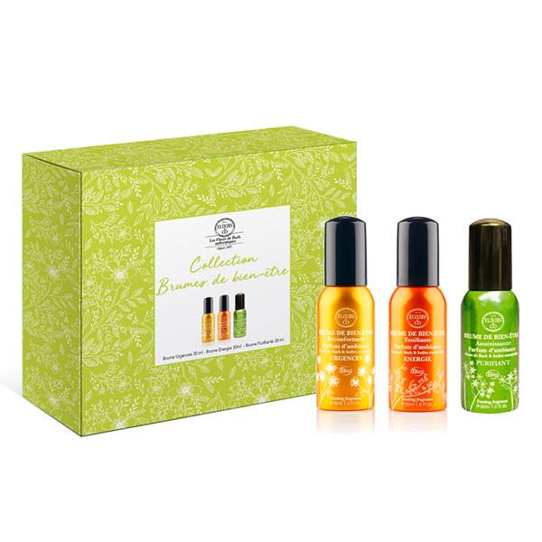 Elixirs & Co Coffret Collection Brumes de Bien-Être Purifiante + Energie + Urgences 3x30ml
