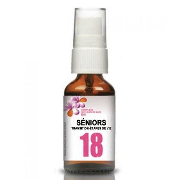 Dr Theiss Complexe Fleurs de Bach N°18 Seniors 20ml