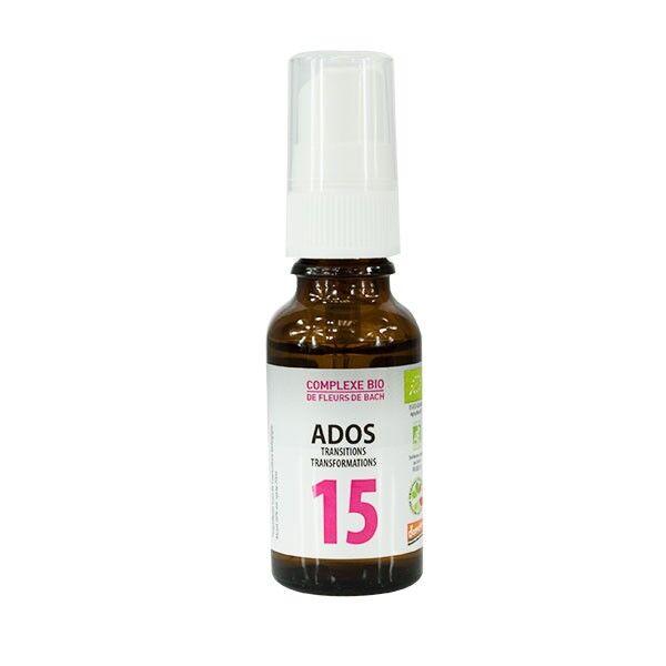 Dr Theiss Complexe Fleurs de Bach N°15 Ados 20ml