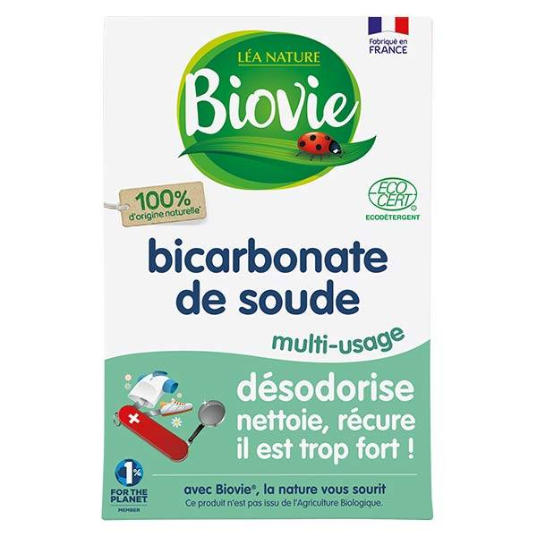 Biovie Entretien Multi-Usages Bicarbonate de Soude 500g