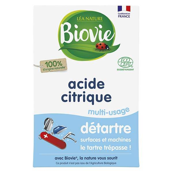 Biovie Entretien Multi-Usages Acide Citrique 350g