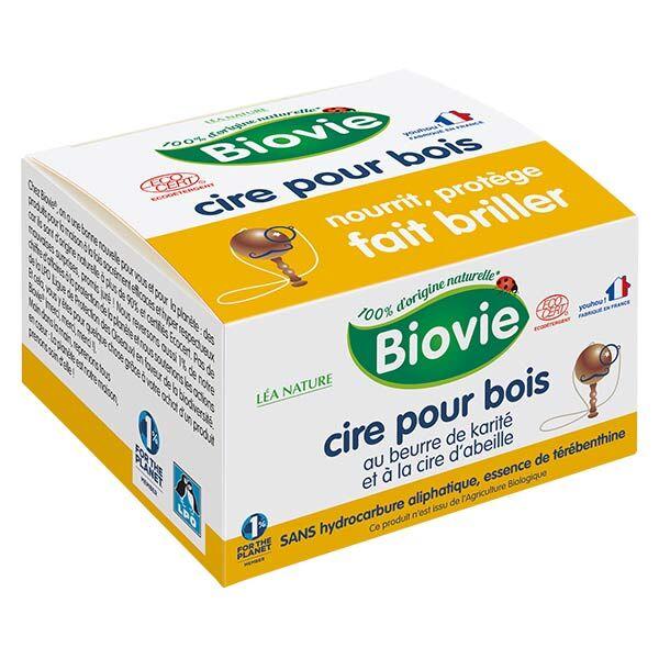 Biovie Entretien Spécifique Cire Bois Cire d'Abeille 60g