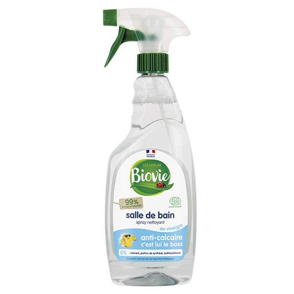 Biovie Entretien Spécifique Spray Salle de Bain Vinaigre 750ml