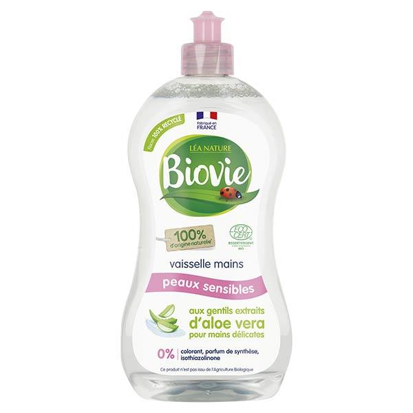 Biovie Vaisselle Mains Hypoallergénique Aloe Vera Bio 500ml