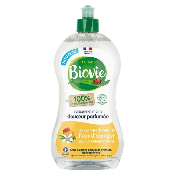 Biovie Vaisselle Mains Douceur Parfumée Fleur d'Oranger Bio 500ml