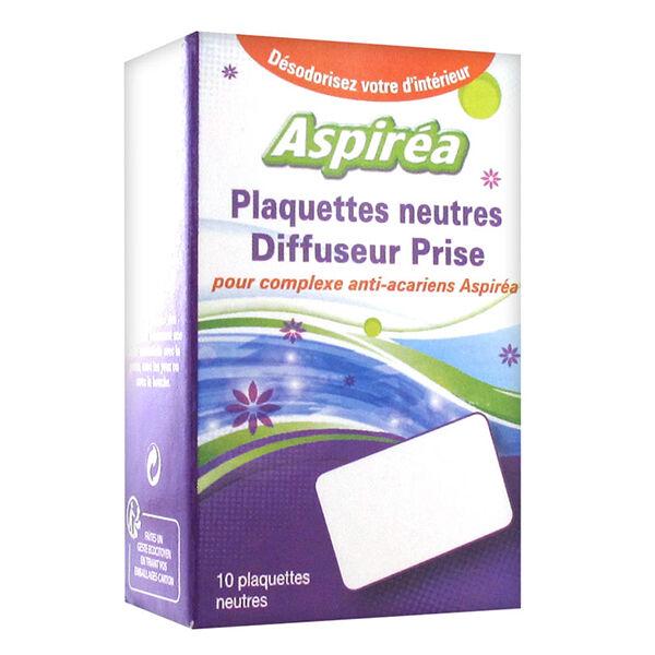 Aspirea Aspiréa Plaquettes Anti-Acariens pour Diffuseur Prise 10 plaquettes
