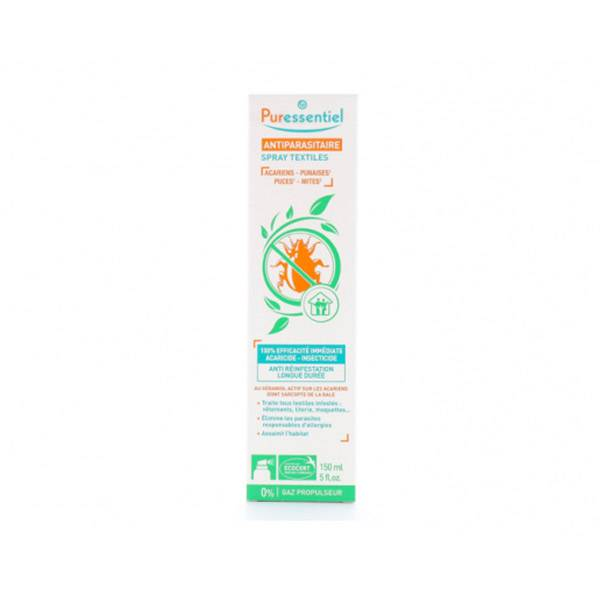 Puressentiel Assainissant Antiparasitaire Spray Textiles 150ml