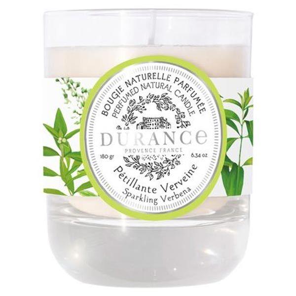 Durance Pétillante Verveine Bougie Naturelle Parfumée 180g