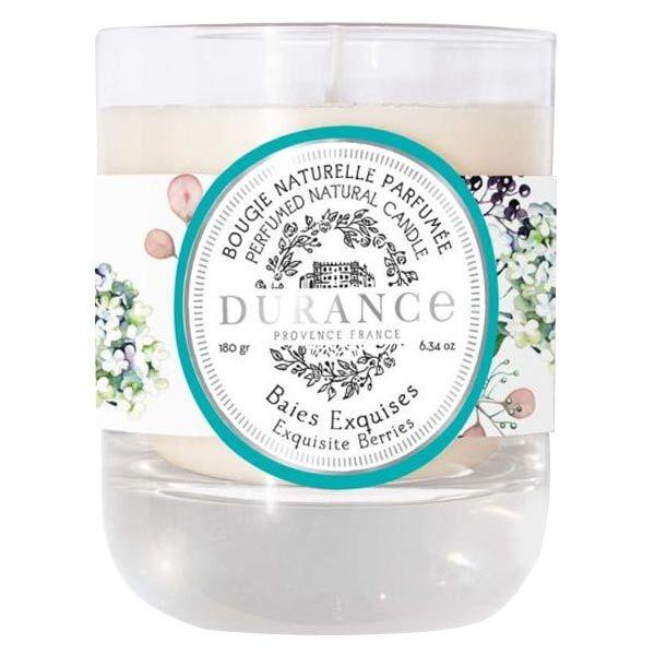 Durance Baies Exquises Bougie Naturelle Parfumée 180g