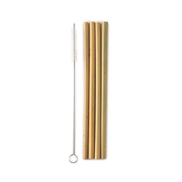 Humble Pailles en Bambou 4 Unités + Goupillon
