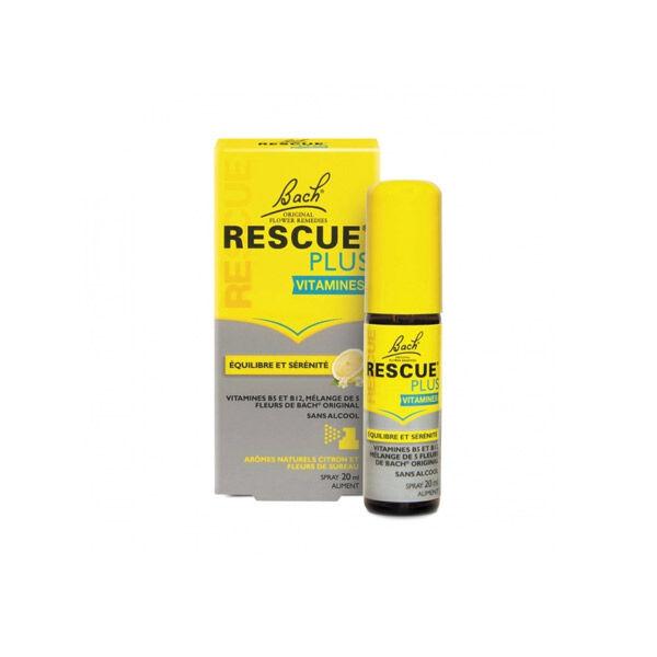 Rescue Plus Vitamines Équilibre et Sérénité Spray 20ml