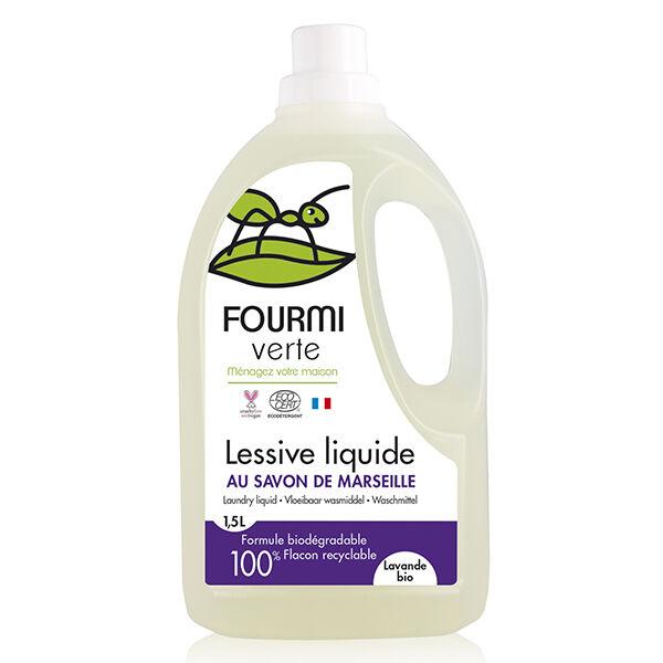Fourmi Verte Lessive Liquide Lavande Bio 1,5L