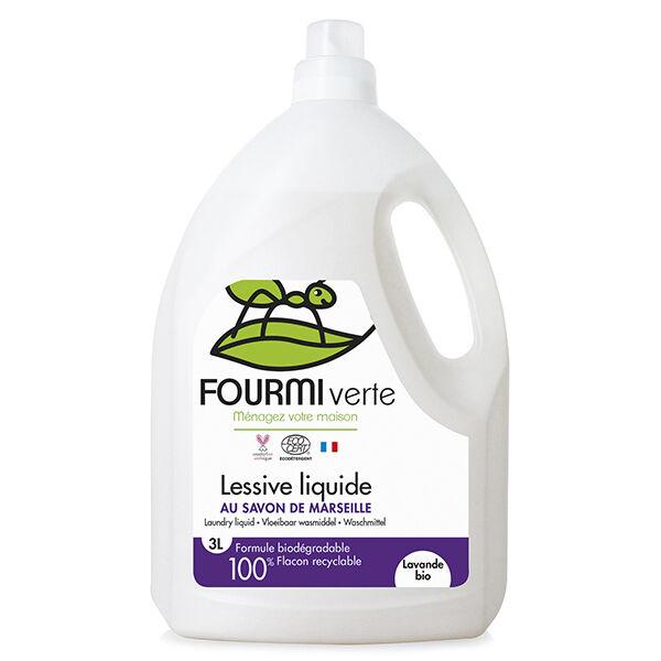 Fourmi Verte Lessive Liquide Lavande Bio 3L