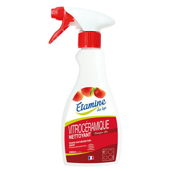 Etamine Du Lys Étamine du Lys Sols et Surfaces Nettoyant Vitrocéramique et Induction Bio 240ml
