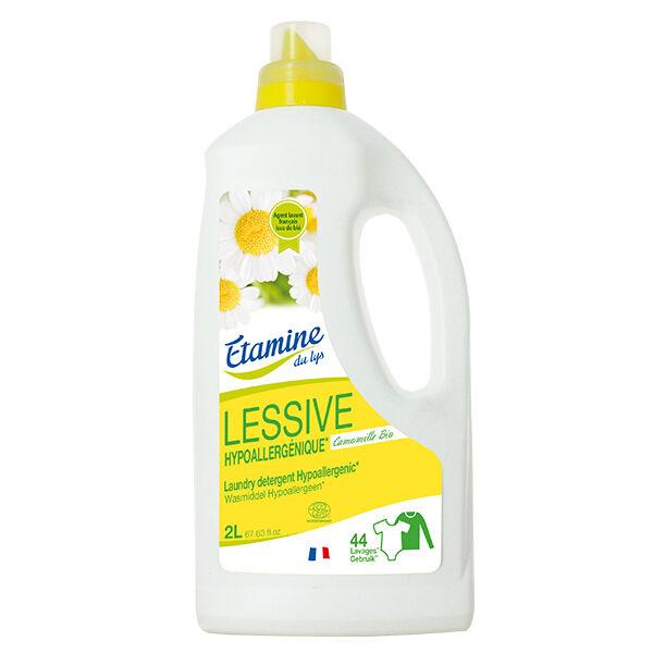 Etamine Du Lys Étamine du Lys Lessive Liquide Hypoallergénique Bio 2L