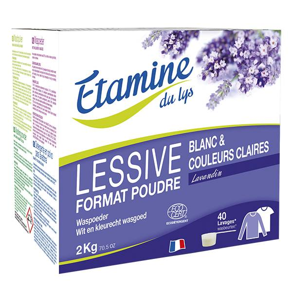 Etamine Du Lys Étamine du Lys Lessive Poudre Lavandin Bio 2kg
