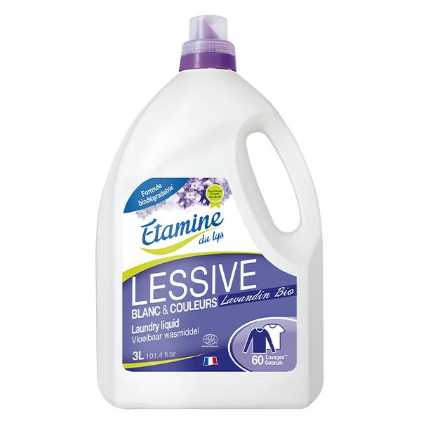 Etamine Du Lys Étamine du Lys Lessive Liquide Lavandin Bio 3L